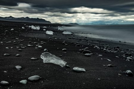 The Black Beach in Vik, Iceland