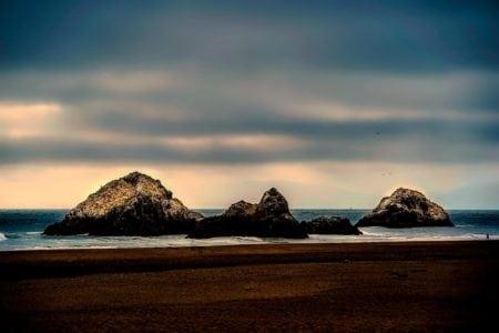 "Beach ""The Lost Coast"", California, USA"