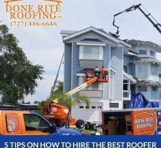 5 Tips On How To Hire The Best Roofer