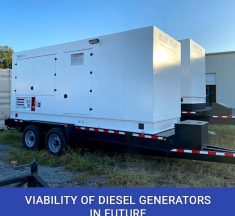 Viability Of Diesel Generators In Future