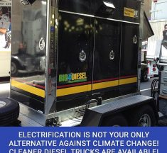 Electrification Is Not Your Only Alternative Against Climate Change! Cleaner Diesel Trucks Are Available!